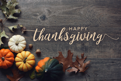Happy Thanksgiving from Reliable Transmission Repair